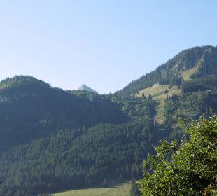 Blick vom Balkon Gästehaus Wineberger
