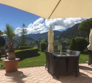 Ausblick beim Kaffee Hotel Alpenschlössl