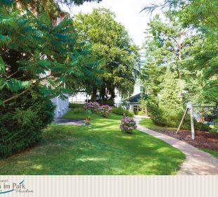 Gartenanlage Ostseehotel Villen im Park
