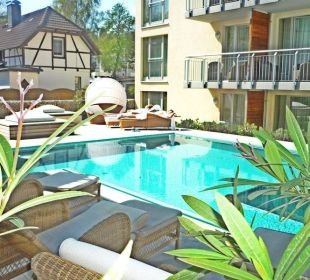 Sole-Außenpool Strandhotel Heringsdorf
