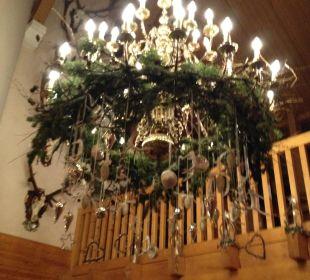 Weihnachtliche Dekoration Hotel Montafoner Hof