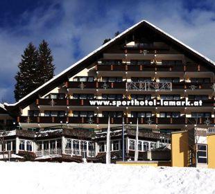 Hotel Lamark in Hochfügen - Vorderansicht Hotel Lamark