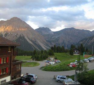 Blick vom Balkon Golf- & Sporthotel Hof Maran