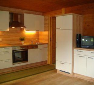 Küche Appartement Obstgarten Wörglerhof Alpbacher Hüttenappartements & Saunaalm