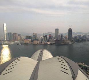 Ausblick Renaissance Harbour View Hotel Hong Kong