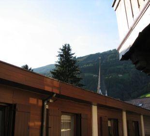 Blick von der Terrasse Landhotel Kaserer