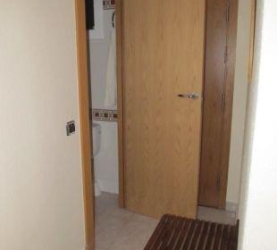 Einzelzimmer 404 - Eingangsbereich Hotel Galeon