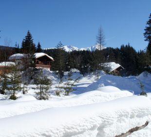 Blick aufs Landhaus Landhaus Karoline Wohlfühl-Ferienwohnungen