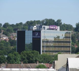 Ansicht Hotel vom Wembley Stadion aus Hotel Premier Inn London Wembley Stadium