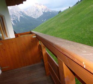 Ausblick vom Balkon Zi 308 Hotel Rustika