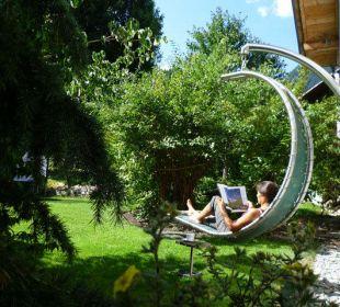 Erholung - schöne Plätzchen im Garten Apartments Suggadin
