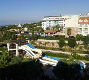 Kinderrutsche am Pool Sunis Hotel Evren Beach Resort & Spa