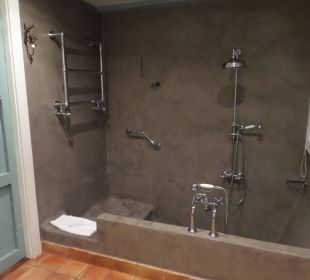 Tolle Dusche / Badewanne Hotel Hacienda de Abajo
