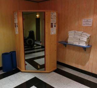 Mini-Sauna Maritim Hotel Nürnberg
