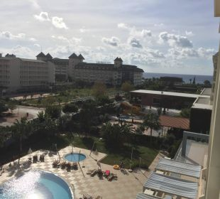 Blick aufs Meer  Hotel Titan Select
