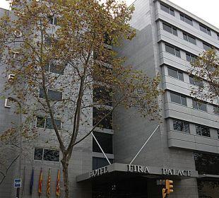 Das Hotel Crowne Plaza Barcelona - Fira Center