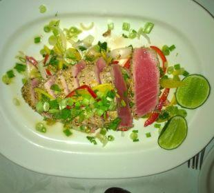 Frischer Thunfisch im Sesammantel Villa Serena