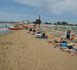 Strand in Lignano