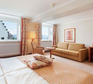 Dreibettzimmer mit Seeblick Hotel Lindauer Hof