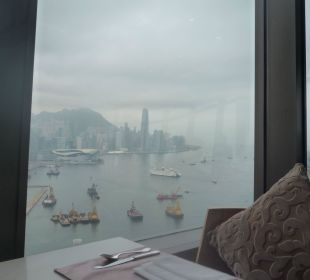Ausblick von der Lounge 41. Stock Hotel Harbour Grand Hong Kong