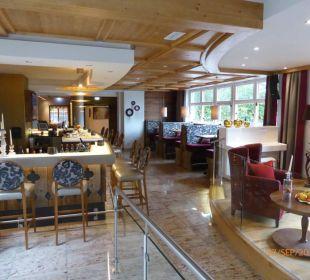 Blick in den Barbereich Hotel Das Rübezahl