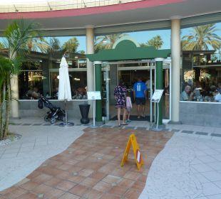 Eingang zum Restaurante Dunas Suites&Villas Resort