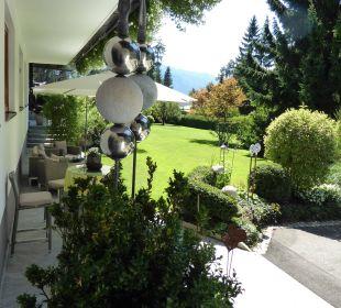 Blick vom Eingang aus  Haus Madlein