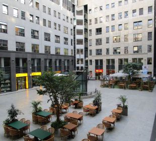 Innenhof Arcadia Hotel Berlin