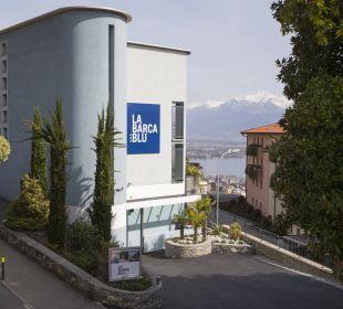 Außenansicht La Barca Blu  Hotel
