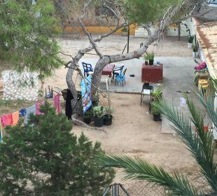 Ausblick aus dem Zimmer. Hotel Abrat