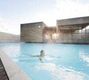 Saunen Außenbereich Hotel Tauern Spa Zell am See-Kaprun