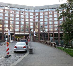 Außenansicht Steigenberger Hotel Hamburg