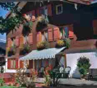 Die gemütliche Sonnenterrasse Gästehaus Brugger