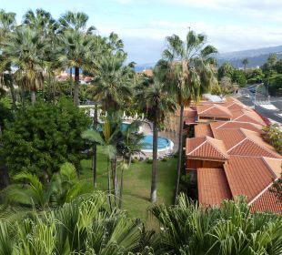 Ausblick Hotel Botanico