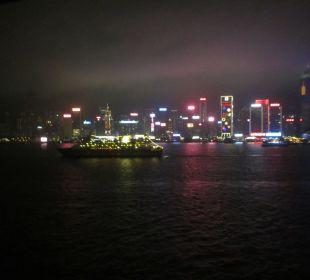 Blick auf HongKong Hotel InterContinental Hong Kong