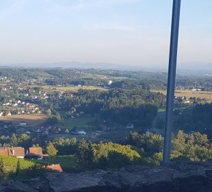 Aussicht  Burghotel Deutschlandsberg