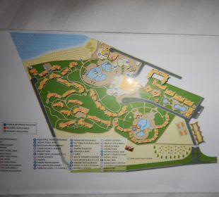 Lageplan Hotelanlage SUNRISE Select Royal Makadi Resort