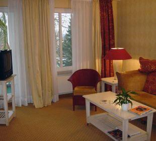Wohnzimmer Suite Jan Bohls Anbau Romantik Hotel Bösehof