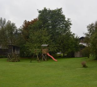 Rutschturm mit Schaukel Hotel Hagerhof