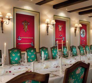 Restaurant / Rittersaal Hotel Travel Charme Gothisches Haus