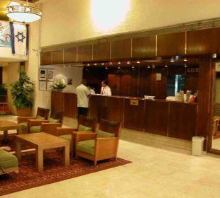 Rezeption Hotel Metropolitan