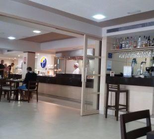 Ansprechend gestaltetes Restaurant Appartments Pabisa Orlando