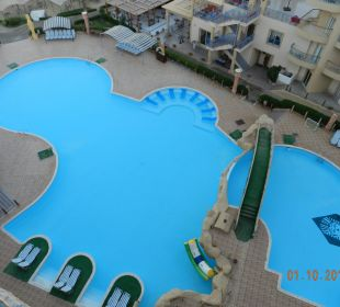 Taras widokowy Sphinx Aqua Park Beach Resort