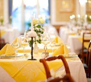 Tischdeko Hotel Europa Splendid