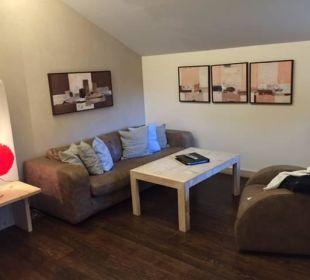 Kristall Suite Wohnzimmer Leading Family Hotel & Resort Alpenrose