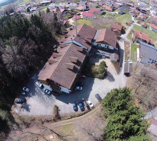 Hotel von oben  Sonnenhotel Eichenbühl