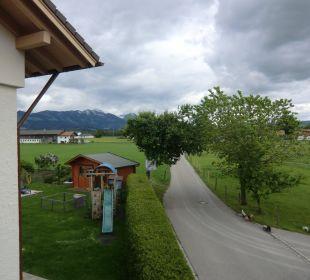Blick vom Balkon Mein Landhaus