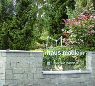 Schild von der Hauptstraße aus  Haus Madlein