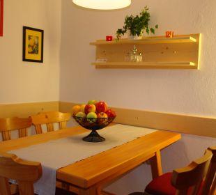 Essecke Appartement Dobratsch Gästehaus Seewinkel