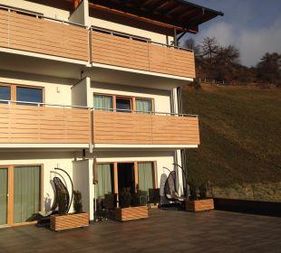 Zimmer von Sonnenterrasse aus Alpin & Relax Hotel Das Gerstl